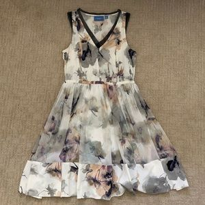 Simply Vera Wang Watercolor Dress